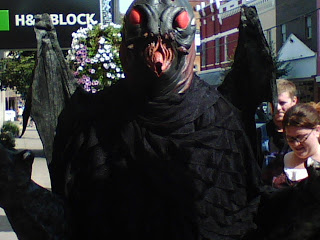 Did someone say Mothman? No? Oh, my bad.