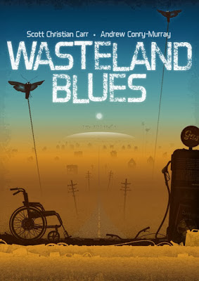 Another Terrific Cover Reveal! Wasteland Blues