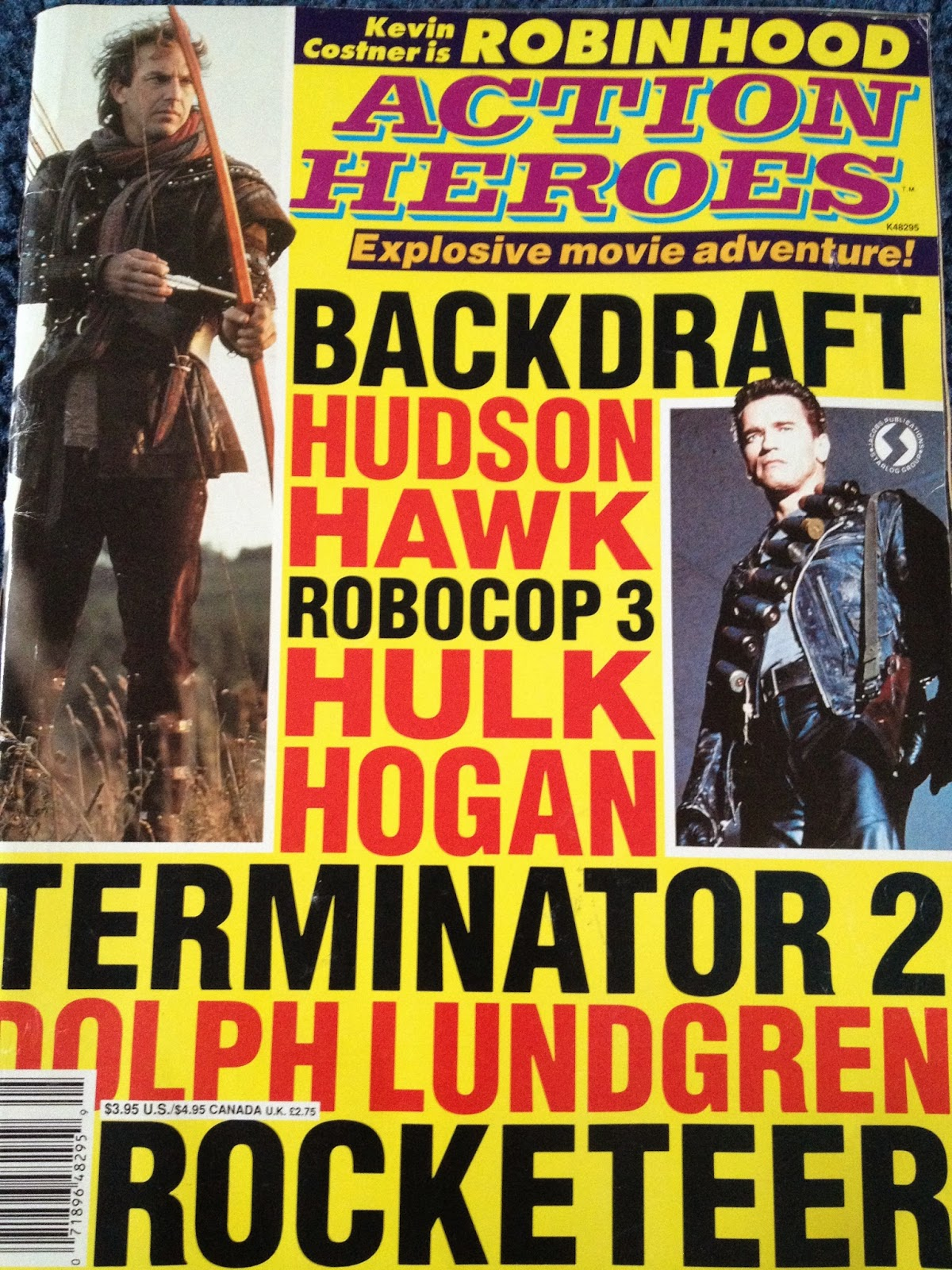 Early 90s Action Heroes
