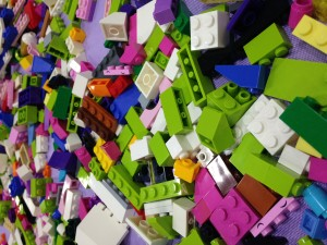 Legos Everywhere!